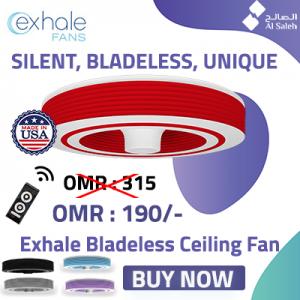 exhale fans oman